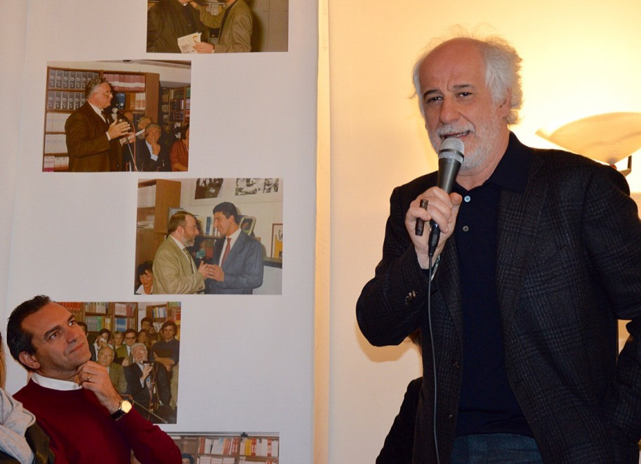 Toni Servillo all'open house Guida, Napoli